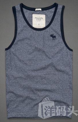 美国现货直邮 Abercrombie&Fitch AF 男士纯棉背心T恤