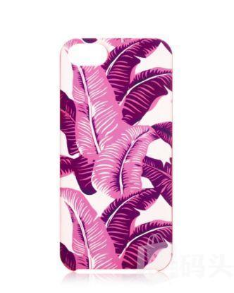 Juicy Couture iPhone 5 手机壳--紫色棕榈