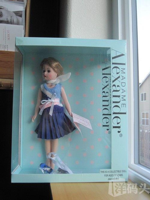 美国直递 Madame Alexander 亚历山大娃娃收藏款 03 精致可爱