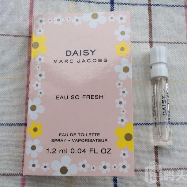 Marc Jacobs马克雅可布DAISY粉色清甜小雏菊香水1.2ml