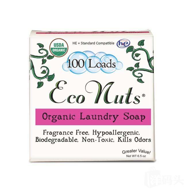 美国USDA有机认证ECO NUTS生机皂果 最天然的洗衣皂果(洗护全明星)-100次盒装