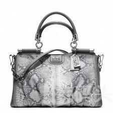 Coach蔻驰MADISON EMBOSSED PYTHON CARRIE手提蟒纹包22342