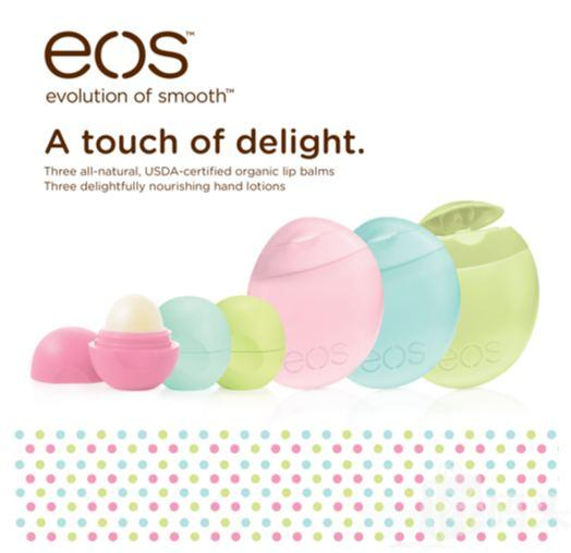 EOS护手霜和润唇膏套装 3个护手霜3个润唇膏