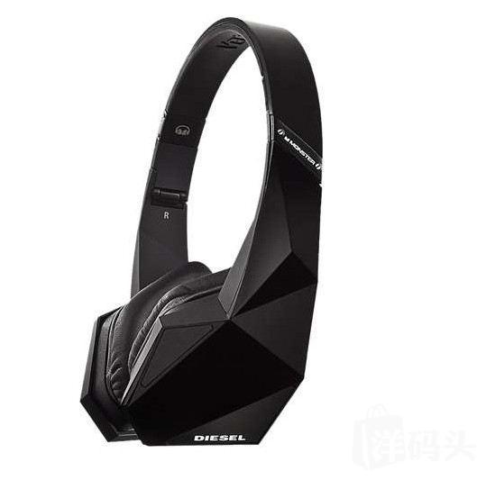 美国代购正品 MONSTER/魔声 Diesel VEKTR 迪赛头戴式耳麦耳机