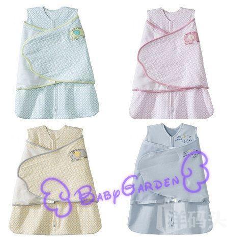美国HALO 2合1婴儿包巾睡袋防踢被 100%纯棉 国内现货 多色可选