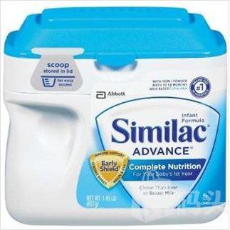 【美国直邮】雅培similac金盾奶粉1段657g--1-12个月