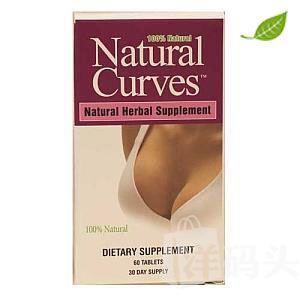 【美国直邮】GNC自然曲线 植物丰胸配方60粒30天量安全不反弹
