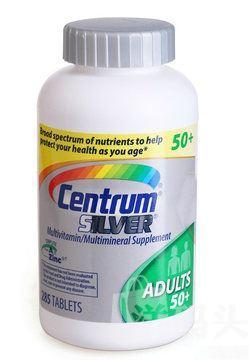 美国直邮 Centrum 老年人银善存 多种复合维生素285粒