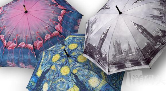 VOGUE杂志推荐全球最美的花朵雨伞 Galleria Folding Umbrella