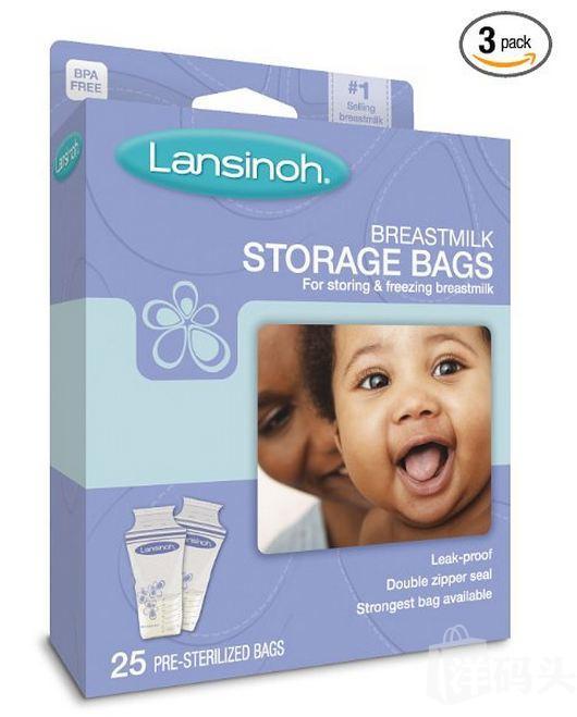 Lansinoh艾芬 Breastmilk Storage Bags 母乳存储袋储奶袋