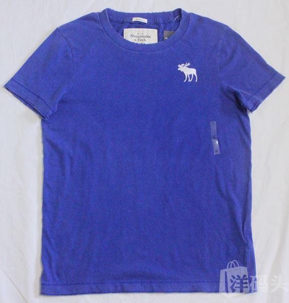 【国内现货包邮】Abercrombie&Fitch AF 男士短袖T恤S号