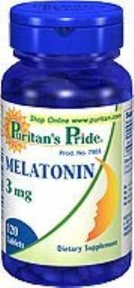 (5瓶装) 褪黑素(维持年轻人分泌量状态,提高免疫力,减缓衰老)