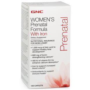 美国gnc 孕妇多种维生素及矿物质120粒 呵护孕妇婴儿