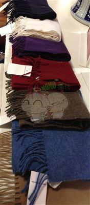 (美国现货)POLO Ralph lauren 马标羊毛男士精致纯色围巾 七色