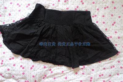 美国专柜正品 JOE BENBASSET100%纯棉衬里蕾丝短裙
