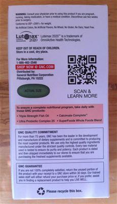 GNC健安喜-女性综合维生素矿物质植物精华缓释片-180粒