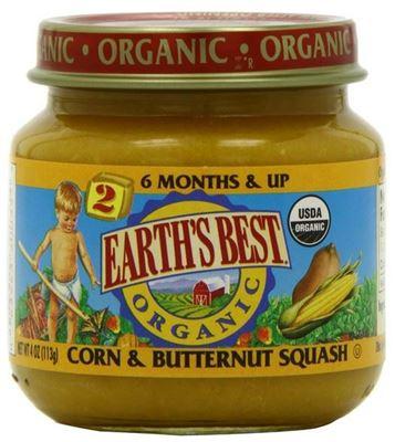 【WHFBUY】美国 Earth's Best世界最好2段二段有机果泥 多种口味 任选4种包邮