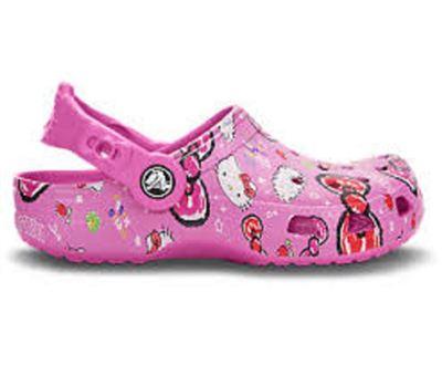 【Crocs卡骆驰】欢乐凯蒂猫小克骆格塑模洞洞鞋