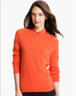 美国代购Equipment女式套头纯羊绒衫Sloane Crewneck Cashmere