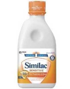 2罐起拍!包美国直邮Similac雅培低敏防胀气1段/一段液体奶 946ml