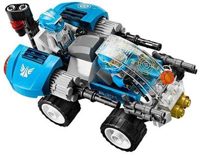 【Lego 乐高】银河别动队星际分离战机, 附三个迷你小人仔