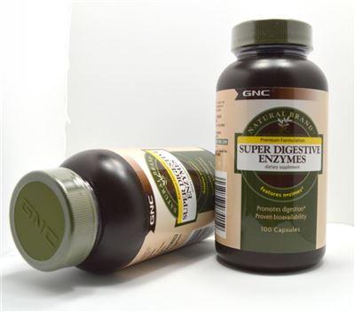 【美国直邮】 GNC健安喜 超级多种消化酶 100粒 肠胃保健助消化