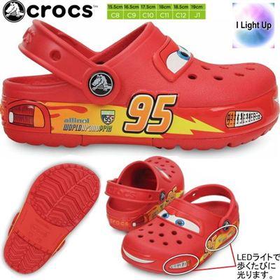 crocs 卡洛驰 汽车总动员闪电麦昆男童洞洞鞋沙滩鞋夏天