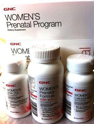 健安喜孕妇综合营养套装 维生素+叶酸+钙+DHA 30天用量