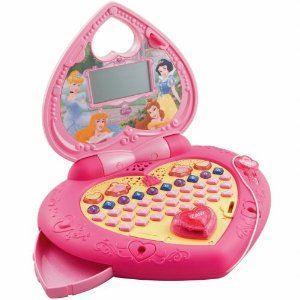 美国直邮Vtech正品伟易达玩具儿童迪士尼公主神奇电脑早教学习机3-6岁