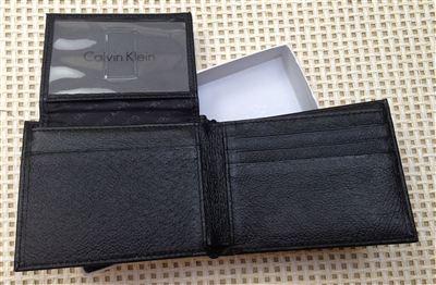 Calvin Klein CK 男士钱包带钥匙扣礼盒套装