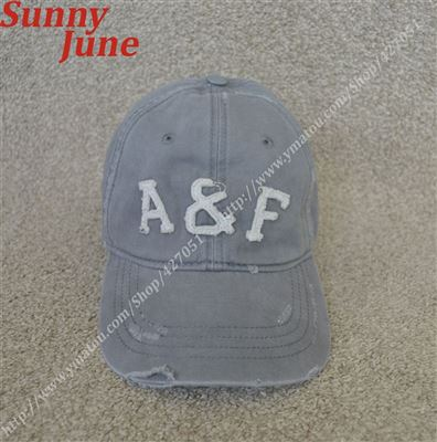 Abercrombie&Fitch VINTAGE BALL CAPS AF 字母 小鹿LOGO 棒球帽