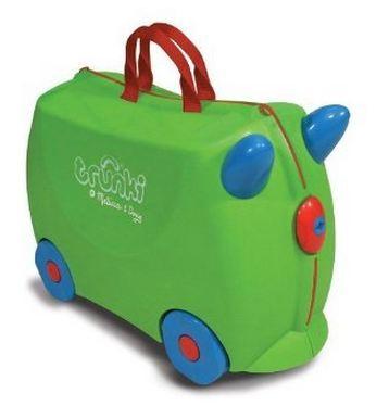 Melissa & Doug Trunki儿童多功能可乘坐行李箱Trixie