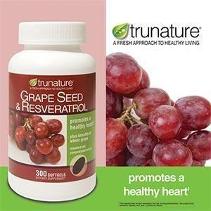 美国 TruNature葡萄籽精华 美白肌肤 延缓衰老 150粒