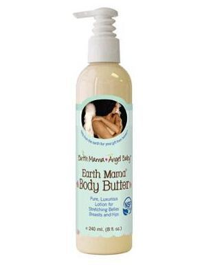 美国直邮Earth Mama Angel Baby地球妈妈有机妊娠纹止痒润肤乳液