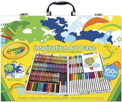 获奖美国Crayola绘儿乐礼品绘画画笔文具环保无毒亲子终极套装