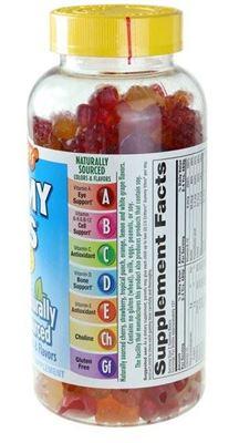 美国直邮 L'il Critters小熊糖复合维生素软糖275粒