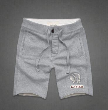 美国代购A&F印第安精致刺绣运动短裤 Athletic Shorts