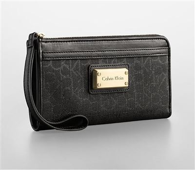 Calvin Klein/CK 新品 女士时尚压花手拿包 ck腕包 钱包 36032760
