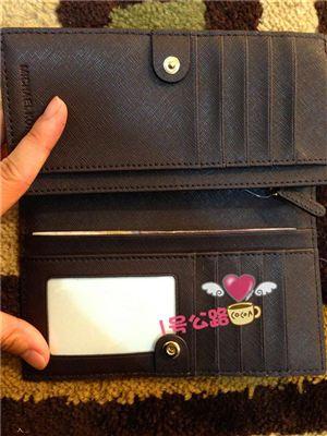 2月26新品超值:Michael kors/MK 长款实用卡包/长款钱包 超值咖啡色
