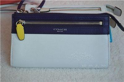 美国代购 coach 48176 签名手包卡位钱包 正品现货直邮