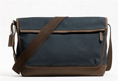 Coach男士CAMDEN CANVAS MESSENGER卡姆登帆布信使包 F70829