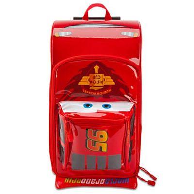 Disney迪士尼mcqueen闪电麦昆赛车总动员汽车拉杆箱 麦坤行李箱
