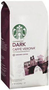 免运费!包美国直邮!星巴克Starbucks Verona佛罗娜 咖啡粉 340g