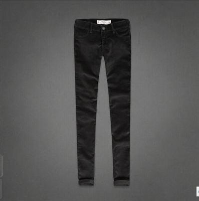 美国代购Abercrombie&Fitch女式细灯芯绒小脚铅笔裤AF Jegging