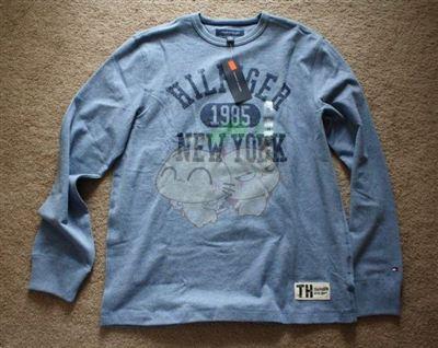 美国现货 TOMMY HILFIGER  男士带标长袖T恤 多色