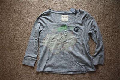 Hollister 女士多色长袖T恤