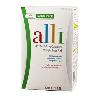 Alli Weight-Loss Aid减肥营养片 唯一FDA许可非处方减肥