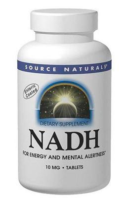 Source Naturals NADH还原型烟酰胺腺嘌呤二核苷酸 5毫克 90片