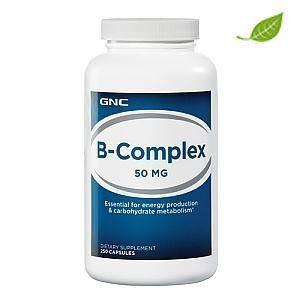 美国直邮GNC VB 复合维生素B群 250粒胶囊 抗疲劳改善溃疡