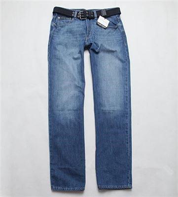美国直邮 正品现货 Calvin Klein/CK 男士直筒打磨牛仔裤 秋冬必备